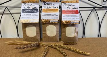 La Ferme des Collines - Lot De 18 Préparations: Gaufres Vanille, Pancakes, Crêpes Sucrées Grand Épeautre