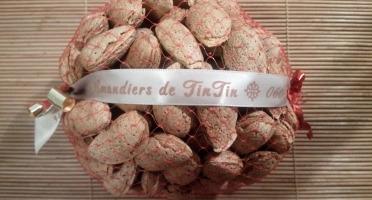Les Amandiers de TinTin - Amandes Françaises En Coque 500g