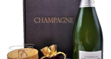 Le safran - l'or rouge des Ardennes - Coffret Champagne, Safran Et Bracelet Mémoire De Forme