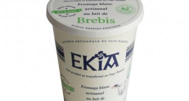 BASTIDARRA - Fromage Blanc Brebis Nature 400g
