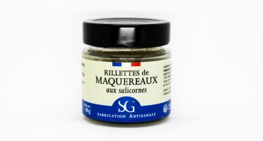 Les Huîtres du Père Gus - Rillettes de maquereaux aux salicornes