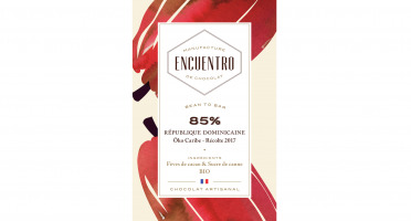 Chocolat Encuentro - Tablette 85% République Dominicaine