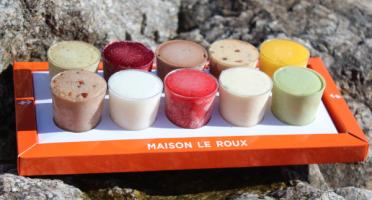Maison Le Roux - Nouveau - Plateau 10 Verrines Glacées