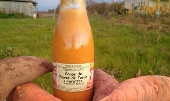 HERBA HUMANA - Soupe De Poire De Terre Carotte - 75cl