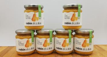 Robin des Bio - Petit pot bébé Bio et Locaux - 6x Écrasé de Butternut Pois Chiche (dès 10 mois)