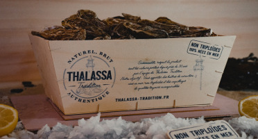 Thalassa Tradition - Huîtres Fines de Mer N°4 Bio Blainville Normandie - 96 pièces