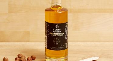 Le Casse Noisette - Huile de noisette bouteilles Rondes - 25 cl