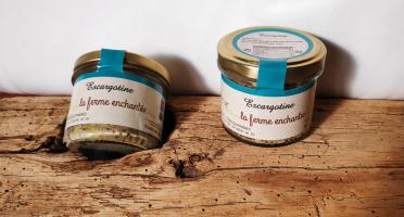 La Ferme Enchantée - Escargotine, Spécialité à Tartiner - 90 gr