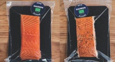 Fumaison Occitane - Pack Duo de Saumon Bio. 2 Pavés de 180 Gr