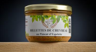 Le Petit Perche - Rillettes de Chevreau au Piment d'Espelette