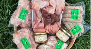 Ferme du Bois de Boulle - Colis de viande de lapin pour 4 personnes