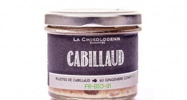 La Chikolodenn - Rillettes De Cabillaud Au Gingembre Confit Bio