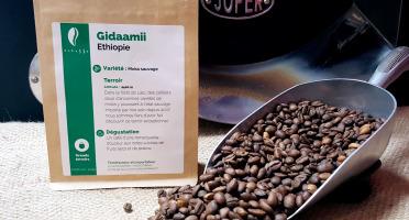 Brûlerie de Melun-Maison Anbassa - Café Gidaamii-ethiopie - Mouture Fine - Espresso