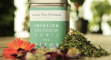 Sous les fraises - Epicerie des Toits de Paris - Infusion Detox