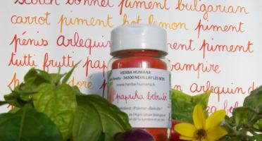 HERBA HUMANA - Paprika Belrubi Cultivé en France 30g