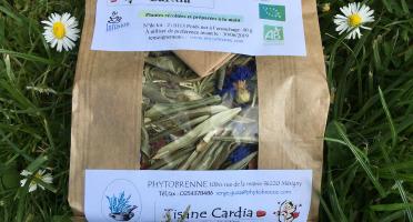 """PhytoBrenne Le Jardin des Magies - Tisane Composée """"Cardia"""""""