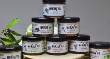 Manjar Viu : Légumes lacto fermentés - Lot de 8 pots de 220g de légumes Bio - lacto-fermentés