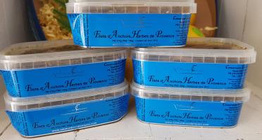 Poissonnerie Le Marlin - Filet D'anchois Mariné Aux Herbes De Provence