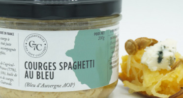 Conserveries des Sept Collines - Tartinable Courges Spaghetti au Bleu - 200 gr