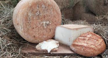 La ferme Lassalle - Fromage de Brebis AOP Ossau-Iraty Fermier de Printemps - la part de 500g