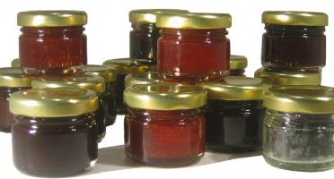 La Ferme des petits fruits - Offre Découverte de nos Produits : confitures, coulis, jus, sirop, vinaigres -  34 Portions Individuelles