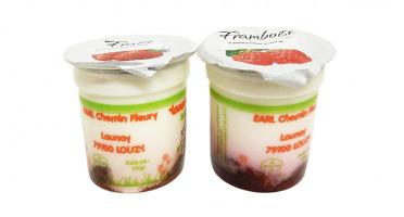 Fromagerie Seigneuret - Yaourt Fruits Rouges Fermier Au Lait De Chèvre X 2