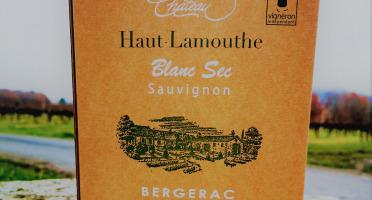 Château Haut-Lamouthe - Bib Bergerac Blanc Sec Aoc - 3 Litres