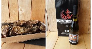 Gourmets de l'Ouest - Panier découverte 50 Huitres de Cancale n°4 / Chouchenn Breton