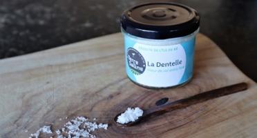LA FERME DES BALEINES - La Dentelle - Fleur De Sel Extra Fine De L'ile De Ré - 90 G - Terre Saline