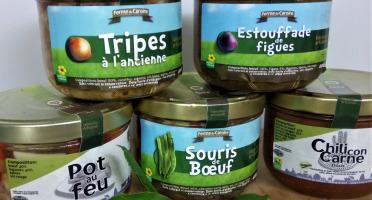 Ferme du caroire - 5 Plats Cuisinés De Bœuf Jersiais En Verrines De 400 Gr