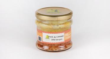 Maison Tête - Pâte de canard 20% foie gras 180G
