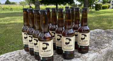 """Vignobles Fabien Castaing - Coffret de 3 Bières Artisanales """"La Barbe"""" - 12x33cl"""