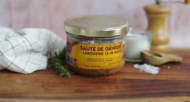 La Ferme Des Gourmets - Sauté de Génisse Limousine (lot de 3)
