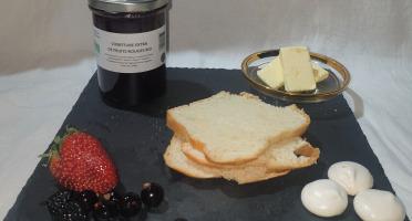 La Ferme du Montet - Confiture Extra de fruits rouges BIO - 220 g
