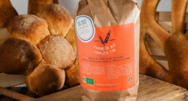 Du bio dans l'assiette - Farine De Blé T110 25kg