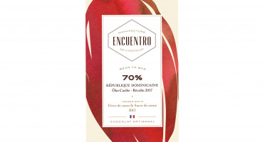 Chocolat Encuentro - Tablette 70% République Dominicaine