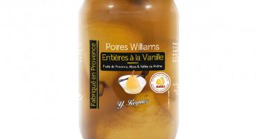 Conserves Guintrand - Poires Williams Entières À La Vanille - Yr - Bocal 850ml