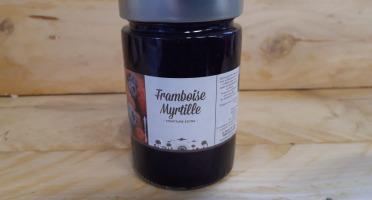 La Ferme du Logis - Confiture de Framboise Myrtille - Confiture Extra