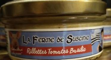 Tome de Rhuys - Rillettes Tomates Basilic