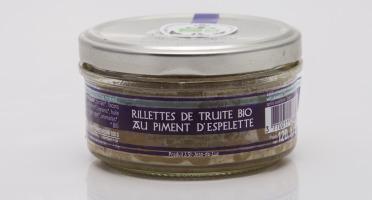 ONAKE - Le Fumoir du Pays Basque - Rillettes de Truite Bio Au Piment d'Espelette
