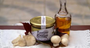 Ferme du caroire - Terrine De Chèvre Forestière