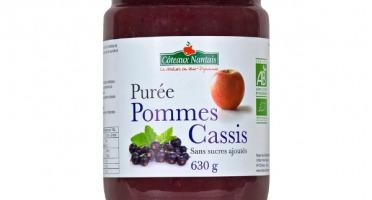 Les Côteaux Nantais - Purée Pommes Cassis 630g