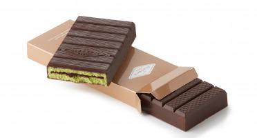 La Glacerie par David Wesmaël - Meilleur Ouvrier de France Glacier - Tablette Glacée Chocolat Noir, Matcha & Muroise