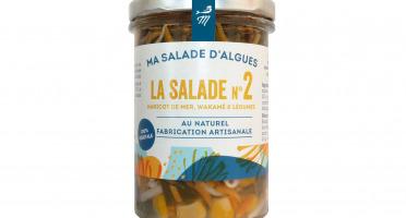 Marinoë - Salade N°2 Haricots de mer, Wakamé & Légumes - au naturel -