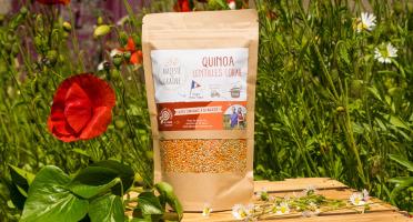 Sa Majesté la Graine - Mélange Quinoa/lentilles Corail Origine France (berry) - 350 G
