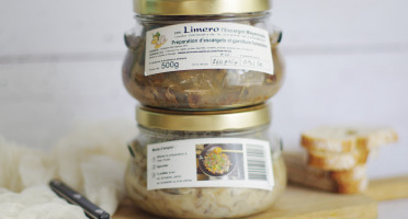 Limero l'Escargot Mayennais - Lot De 2 Préparations D'ecargots Et Garniture Forestière 2x500g