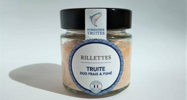 Saumon de France - Rillettes de truite duo frais et fumé
