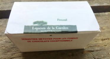 Vinaigres de la Carrière - Chocolats au Fenouil - 5 pièces