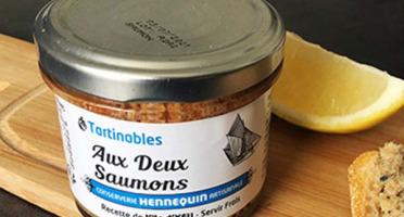 Ô'Poisson - Tartinables Aux 2 Saumons