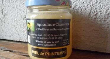 Apiculture Chambron L'Abeille et les reines d'Argonne - Miel D'argonne De Printemps 250g